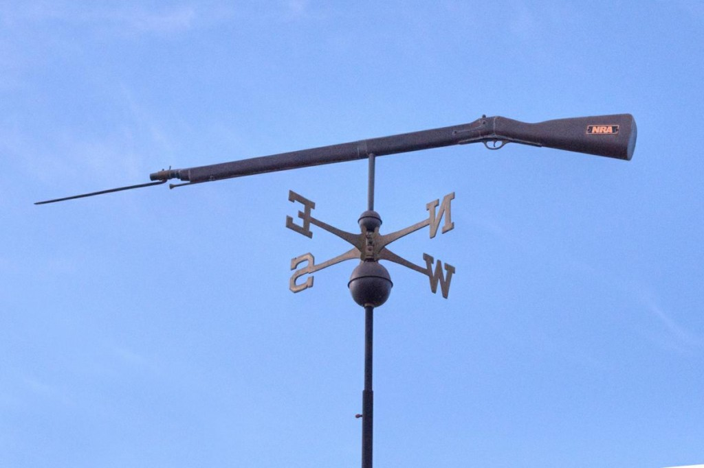 Rifle Weathervane
