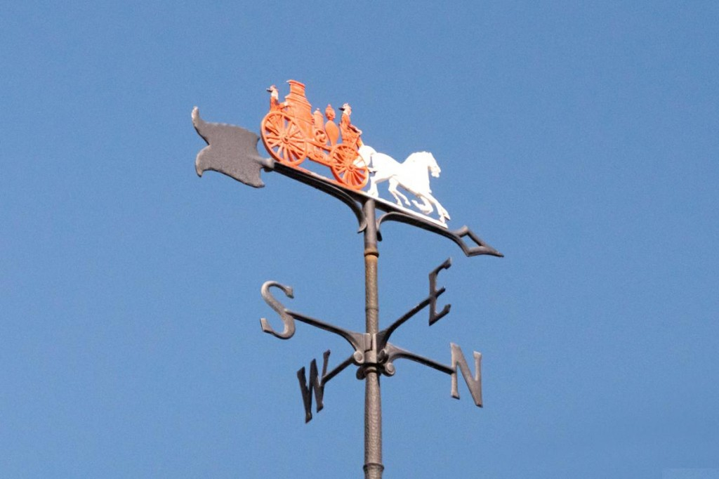 Horse Drawn Fire Engine Weathervane