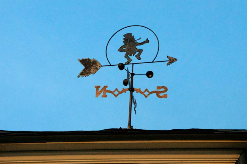 Dancing Man Weathervane