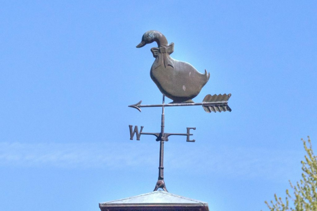 Mother Goose Weathervane