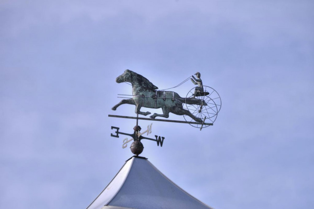 Harness Racing Weathervane