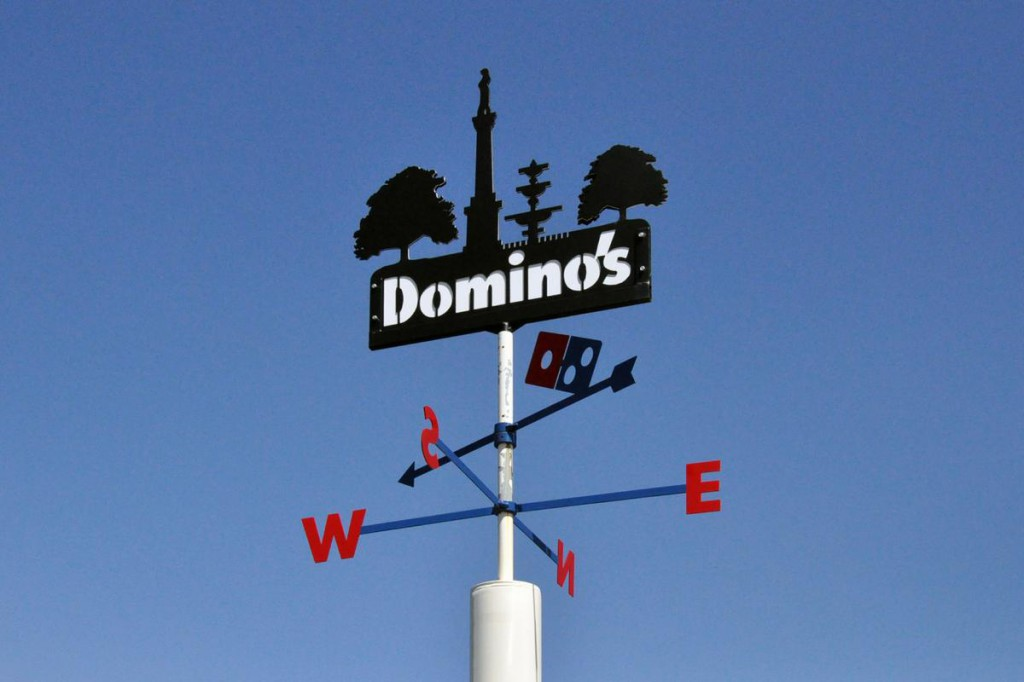 Dominos Weathervane